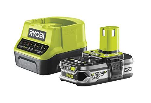 Ryobi RC18120-115 - Pack cargador 1 h + 1 Batería Litio-Ion 18V 1,5Ah