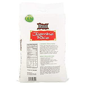 Imperial Dragon Jasmine Rice, 20-Pound by Imperial Dragon