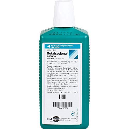 Betaisodona Lösung Reimport ACA Müller, 500 ml Lösung