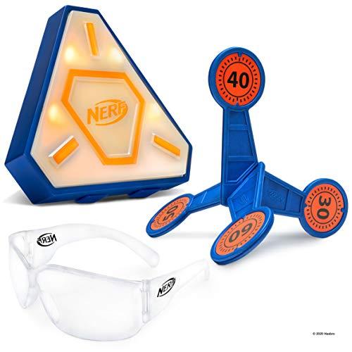 NERF Elite Strike Combo Pack - Includes 1 Flash Strike Target, 1 Flip Strike Target, and 1 Pair of Elite Glasses – Amazon Exclusive