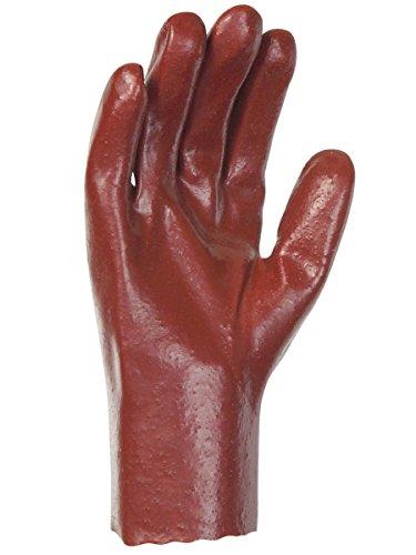 Singer - Paire de gants P.V.C - Tout enduit 27 cm - Simple enduction - Version rugueuse - Taille 8,5 - PVC528