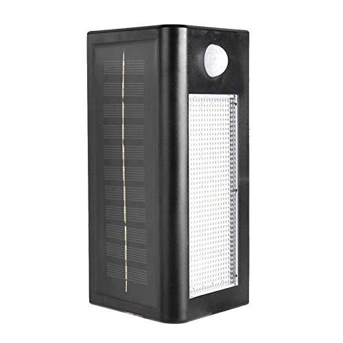 Lámpara de pared ABS Super brillante cuerpo 4 interruptores 32LED para terrazas al aire libre, jardines para pared exterior, vallas