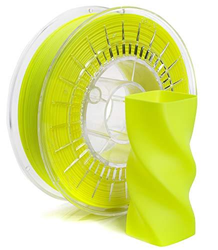 Rosa3D PLA Starter 1,75 mm | Filamento PLA+ (giallo fluo)