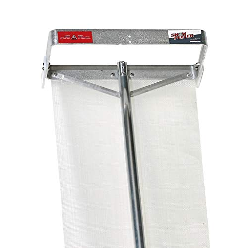 SNOWPEELER | Roof Snow Removal Tool | 20 ft. Extended Reach | Lightweight | Easily Remove Snow from Your Roof | Ideal for Single Storey and Cabins | Aluminum and Stainless-Steel