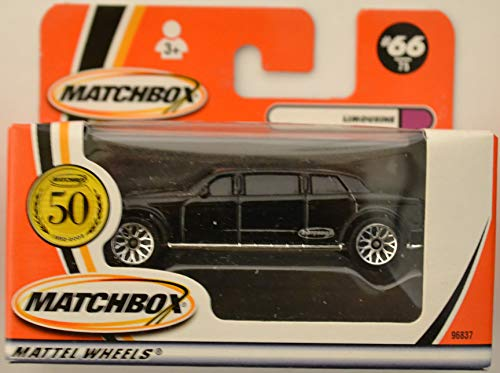 Ford Limousine Black #66 Matchbox Collection Limited Edition Series 1:64 Scale Die Cast Collectible Model Car