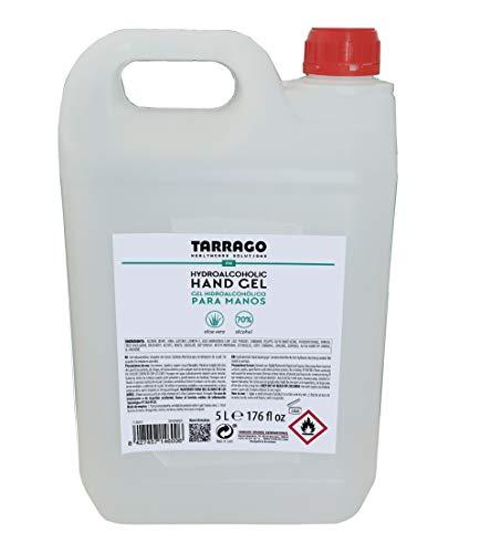 Tarrago | Gel Hidroalcohólico para Manos 5L