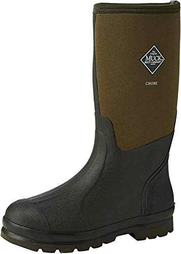 Muck Boots Chore High, Unisex Erwachsene Arbeits-Gummistiefel, Grün (Moss 333), 42 EU (8 UK)