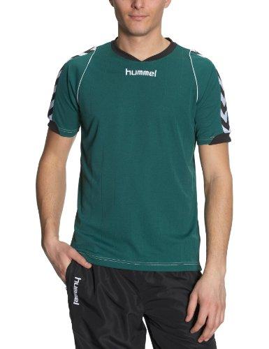 hummel Bee Authentic - Camiseta para Hombre, tamaño M, Color Verde