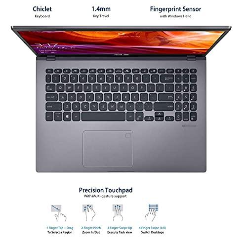 ASUS VivoBook 15 AMD Ryzen 3-3250U (4GB RAM/1 TB HDD/Windows 10/Integrated AMD Radeon Graphics/15.6-inch HD/FP Reader/1.9 kg/Slate Grey/1 Yr. Warranty) M509DA-BR301T
