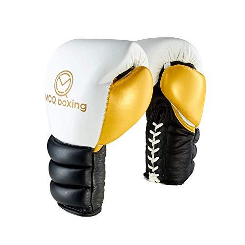 MOQ Boxhandschuhe Lineal zum Schnüren, Rindsleder