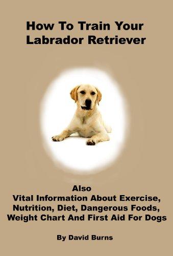 How To Train Your Labrador Retriever: Also vital information about exercise, nutrition, diet, dangerous foods, weight chart and first aid for dogs (English Edition)