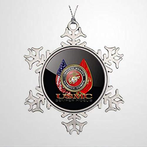 BYRON HOYLE USMC Christmas Ornament Christmas Snowflake Ornaments Xmas Decor Wedding Ornament Holiday Present