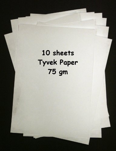 Tyvek 75gm–Bumper Pack von 10A4Blatt