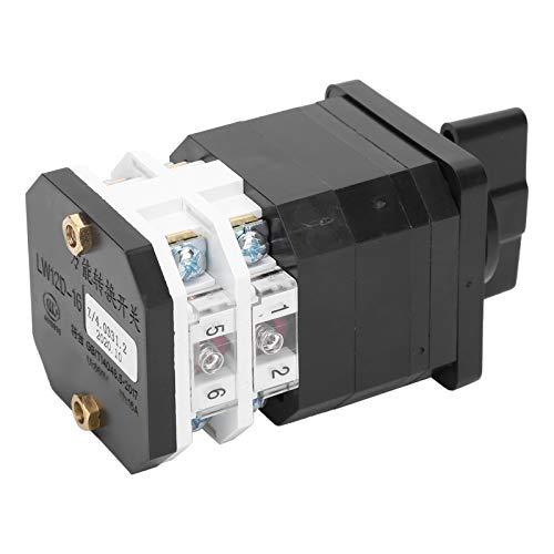 Interruptor automático 660V del reset del interruptor eléctrico de la leva para el control maestro para el equipo de prueba