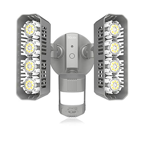 SGLEDS 36W LED Security Lights Motion Sensor Light Outdoor...