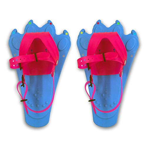 Redfeather Snowshoes 550060 FlashTrax Snowshoes, Light Blue, one Size