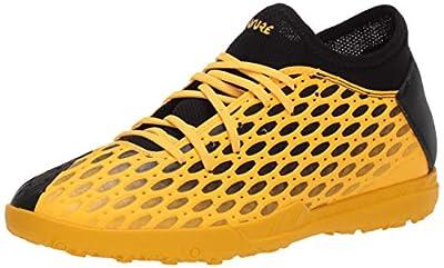 PUMA mens Future 5.4 Turf Trainer Soccer shoe, Ultra Yellowpuma Black, 11.5 US