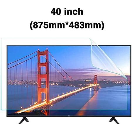 H/ängen Anti-blaulichtfilter F/ür 32-75 TV Blockiert /überm/ä/ßig Sch/ädlich Blaues Licht Und UV Fernseher Bildschirmschutz Einfach Auf//Aus Abnehmbar,32 700 * 395mm F/ür LCD /& LED /& Plasmafernseher