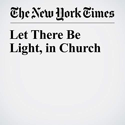 Let There Be Light, in Church copertina