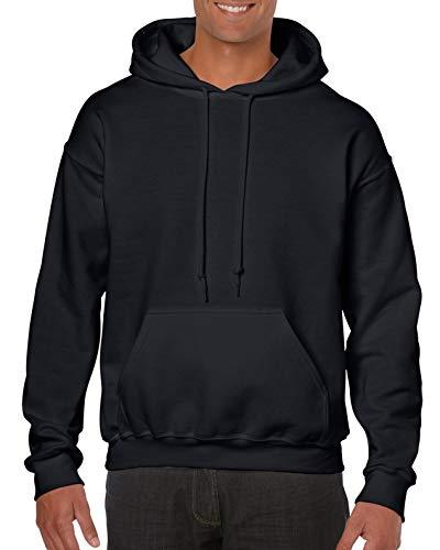 Gildan Sweat à capuche en tissu épais - Noir - Medium