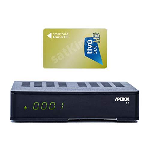 APEBOX S2,USB,CA,IPTV Receiver mit AKTIVIERTE...