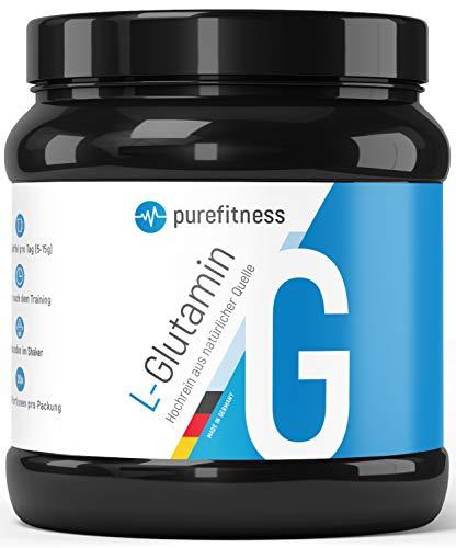 PREMIUM L-Glutamin Ultrapure Pulver I 500g I Vegan I 99,95{e5be51feb3a3f885f6acf02d4e7513fa498c0b39d662190cc85b1405c9a84f20} Reinheit I HOCHDOSIERT I Laborgeprüft I Pflanzlich hergestellt aus Mais-Geschmacksneutral