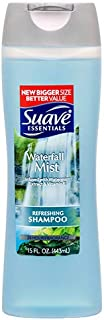 Suave New 381384 Shampoo Waterfall Mist 15 Oz (6-Pack) Shampoo Wholesale Bulk Health & Beauty Shampoo Cup