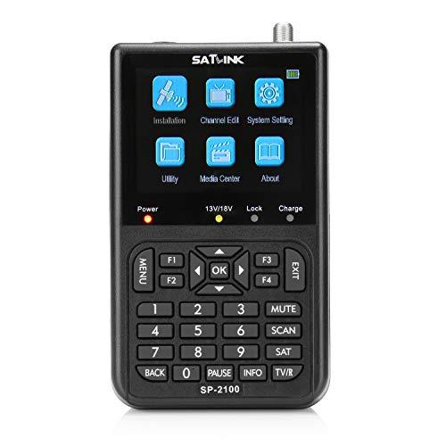 SATLINK SP-2100 HD DVB-S / S2 y MPEG-2/4 Medidor de señal de satélite digital...