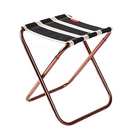 qidongshimaohuacegongqiyouxiangongsi angelausrüstung Tragbare Angelhocker Sitztasche Rucksack Mini Stuhl leichte Fischen Wandern Outdoor-Camping-Klappstuhl (Color : Black)