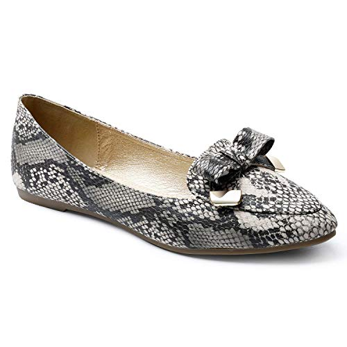 Top 10 best selling list for red flat snake print shoes for women