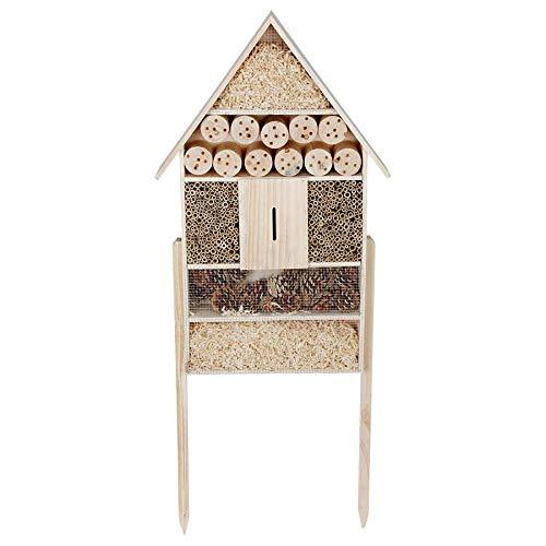 XXL Insektenhotel auf Stelzen - 119 cm x 50 cm x 12 cm - Stand Insektenhaus