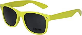 a0b1e6bdb9 X-CRUZE® Gafas de sol nerd retro vintage unisex - 45 colores/modelos