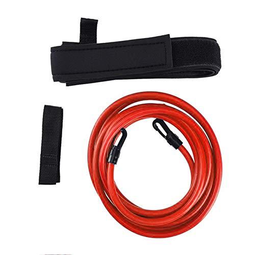 LSGD Cinturones de Entrenamiento de natación, Tether Bandas de Resistencia estacionarias Entrenador de natación Cinturón Flotante Ajustable, para niños Adultos Herramientas de para Piscinas (6x9x4m)