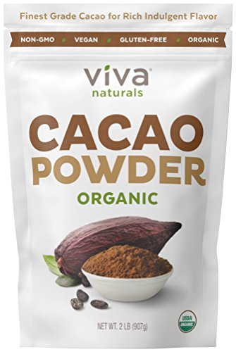 Viva Naturals Certified Organic Cacao Powder