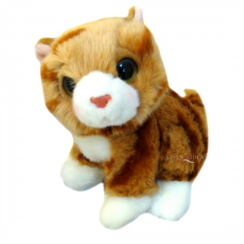 aspirante Posh Paws Chats 'marron' 17,8 cm doux jouets
