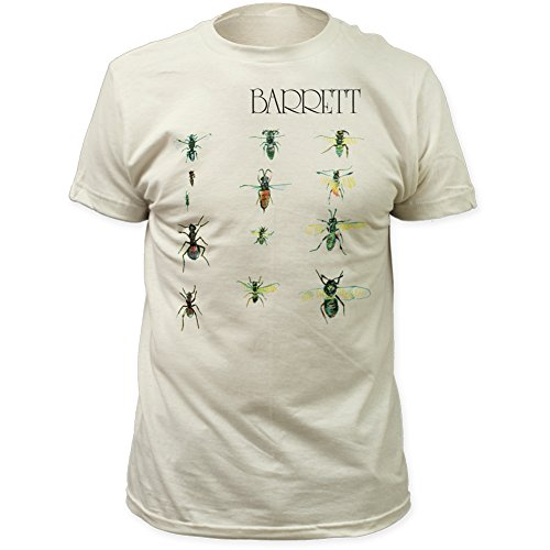 Impact Syd Barrett Barrett Fitted Jersey tee Vintage-White Large