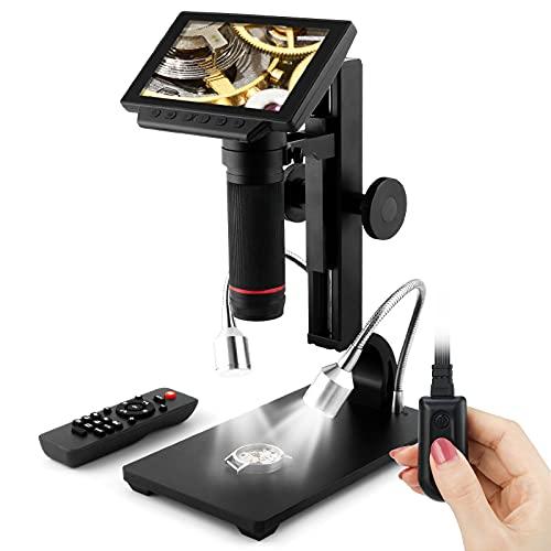 Andonstar ADSM302 Digitales HDMI-Mikroskop für Leiterplatten-Reparatur, 5 Zoll (12,7 cm) Bildschirm, 1080P, als Löthilfe.