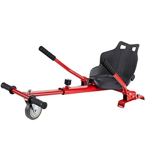 KMZ Accesorios de Kart de Hoverboard Ajustables para -All Heights- Todas Las Edades-Two Wheel Self Balancing Scooter: Compatible con Todos los hoverboards, como un Kart,