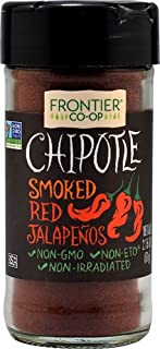 Frontier Co-Op Chipotle Smoked Red Jalapenos Ground -- 2.15 oz - 2 pc