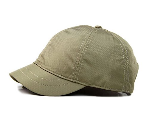 Crazy Cart Adjustable Men and Women Sun Hat Breathable Short Brim Baseball Cap