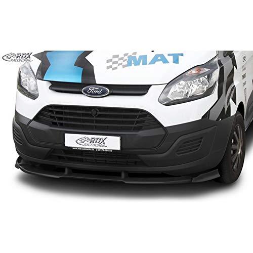 RDX Frontspoiler VARIO-X Transit Custom / Tourneo Custom 2012+ Frontlippe Front Ansatz Vorne Spoilerlippe
