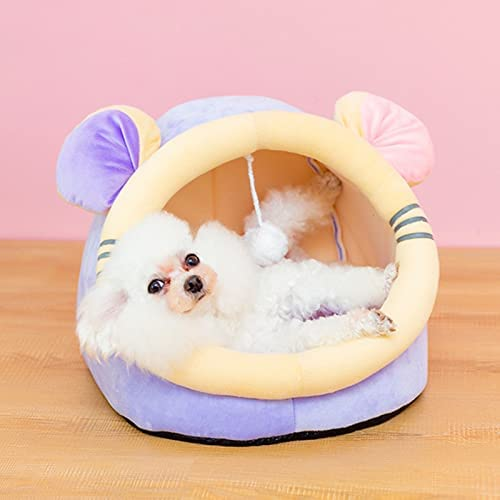 Mhuan Pet Large-scale sale Tent for Cat Samll Dog Half Bed E Soft Cave Virginia Beach Mall Super