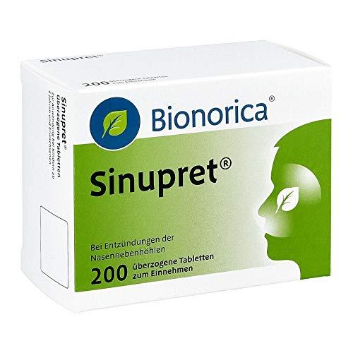 SINUPRET überzogene Tabletten 200 St
