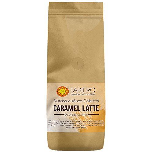 Tariero's Caramel Latte Flavoured Gourmet Coffee (Ground), 250g