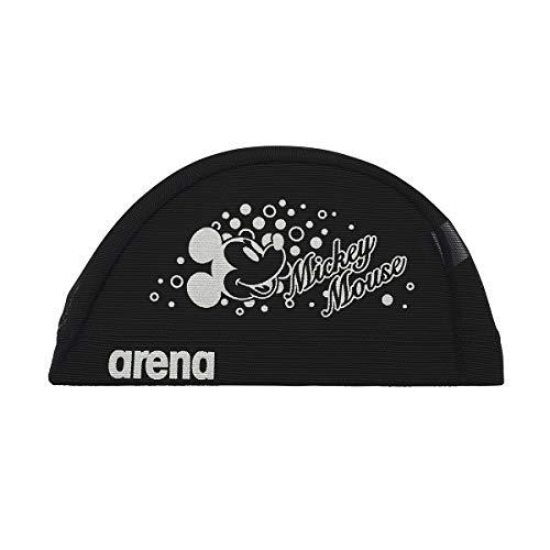 アリーナ (arena) スイミング用メッシュキャップ ディズニー パワーネット ブラック Mサイズ DIS-0360