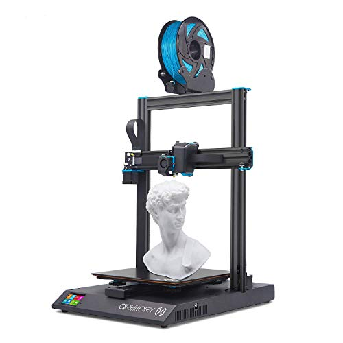 Artillery Sidewinder X1 3D Printer, 2020 Newest V4 Version Lattice Glass Heat Bed Aluminum Extrusion Frame & Filament Runout Sensor & Power Failure Recovery 3D Printering
