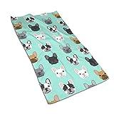 French Bulldog Sweet Dog Puppy Kitchen Towels ̈C 44,5 x 69,8 cm Microfaser Frottee Geschirrtücher...