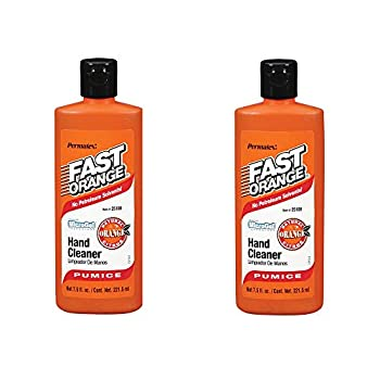 Permatex Fast Orange Fine Pumice Lotion Hand Cleaner - 7.5 Fluid Ounce  2 Pack