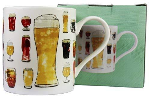 Julia Crochet Bière et Boissons Design Tasse en Porcelaine Fine
