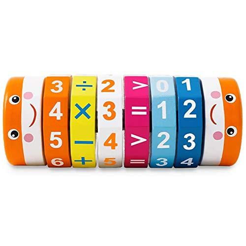 Amasawa Arithmetisches Lernspielzeug Mathematik,Rechnen Spielzeug Kinder Intelligenz Gehirn Entwickeln Spielzeug,Kinder Rechnen Spielzeug,Rechenrolle Mathematik Lernspielzeug